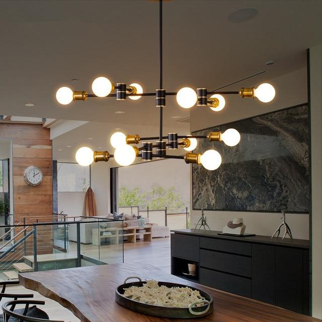 Nordic Moderne Vertraglich Kreative Romantische Cafe Theke Restaurant Wohnzimmer Lampen Helical Molekulare Geometrie Droplight