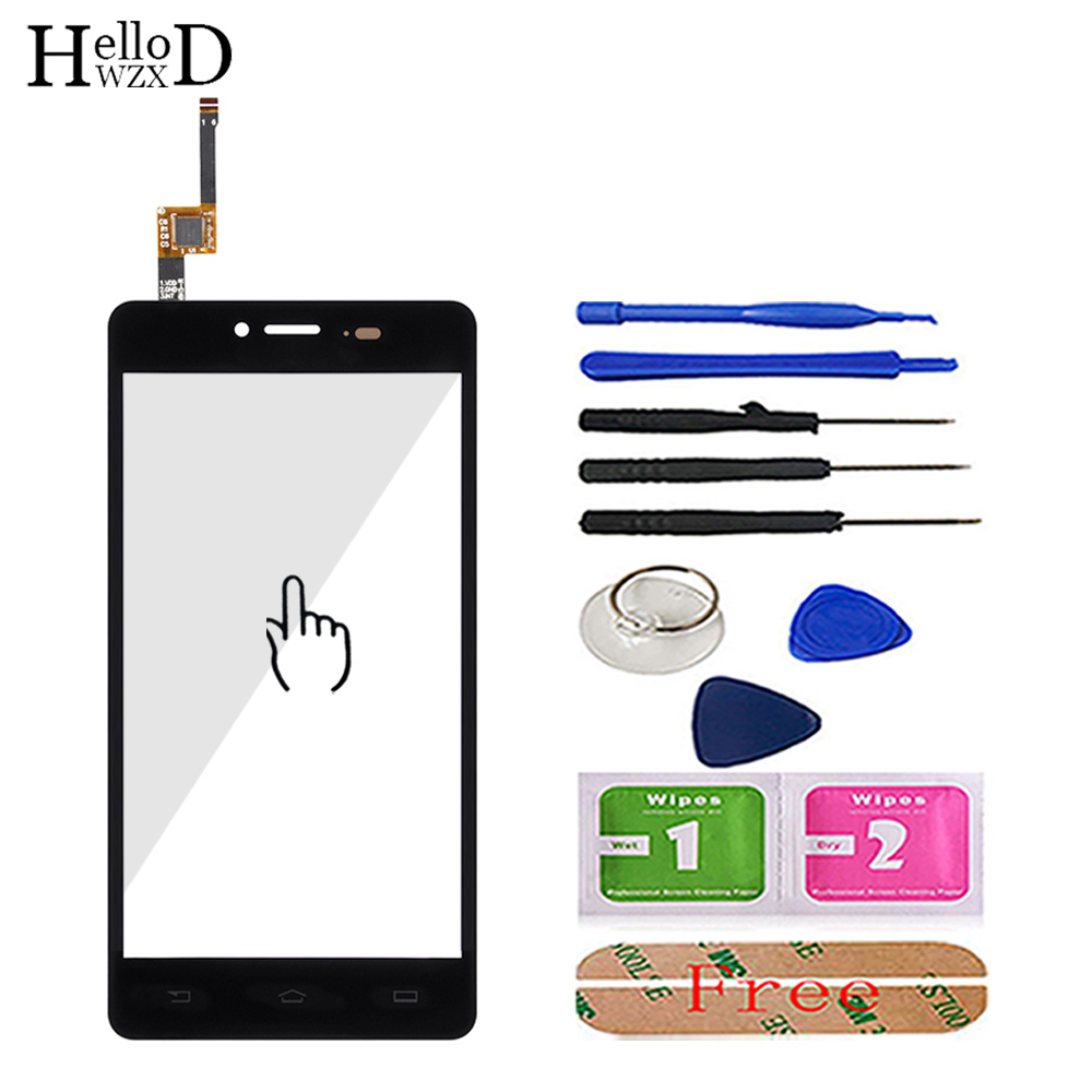 Mobile Touch <font><b>Screen</b></font> Touch Front Glass Digitizer Panel For <font><b>Philips</b></font> <font><b>S326</b></font> S 326 Touchpad Touch <font><b>Screen</b></font> Panel Lens Sensor 3M Glue image