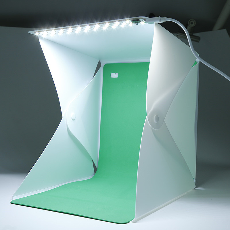 Professional Mini Photo Studio Box Photography Lighting Backdrop Built-in Light Photo Light Room Cube Box Camera Accessories