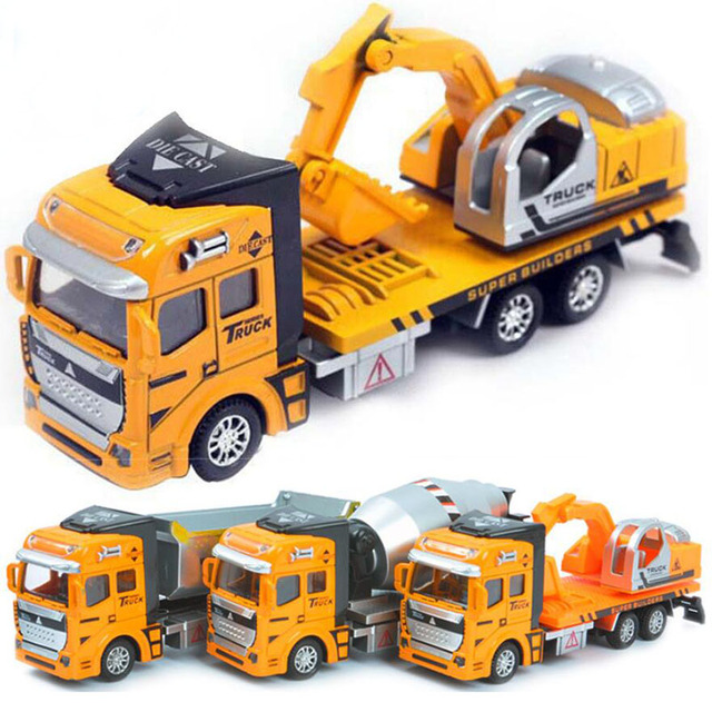 Pull Back Car Truck 1:48 Alloy Car Model Diecasts & Toy Vehicles Kids Toys for Children Scale Models 137
