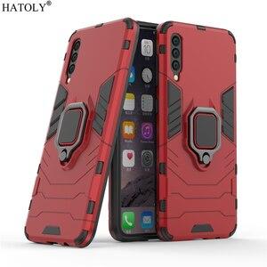 Image 3 - For Cover Samsung Galaxy A50 Case Shockproof Armor Case For Samsung A30 A40 A60 A70 A80 Phone Cover For Samsung A7 A8 2018 Case