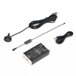 100KHz-1.7GHz Full Band UV HF RTL-SDR USB Tuner Receiver R820T+8232U Ham Radio(China)