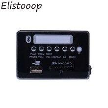2019 Auto USB Lettore MP3 Hands Free MP3 Scheda di Decodifica Modulo Bluetooth USB FM Aux della Radio per Auto Integrato a distanza di Controllo