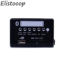 2019 Car USB MP3 Player Hands free MP3 Decoder Board Bluetooth Module  USB FM Aux Radio for Car Integrated Remote Control