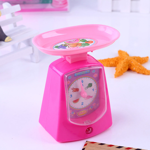 Image 4 - 1PCS Kawaii Pretend Play Mini Simulation Kitchen Toys Light up & Sound Pink Household Appliances Toy for Kids Children Baby Girl