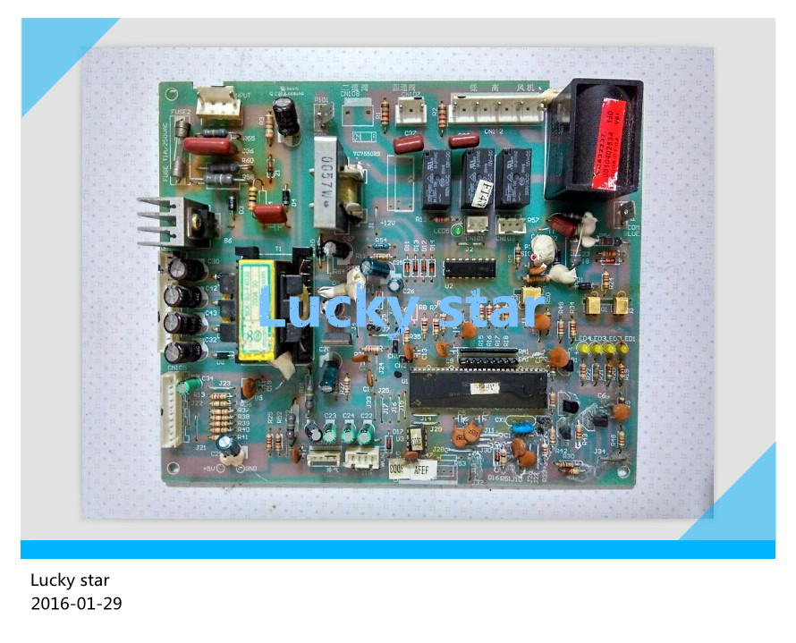 95% new for Haier Air conditioning computer board circuit board KFR-60LW/BPF 0010402534 good working 95% new for haier refrigerator computer board circuit board bcd 198k 0064000619 driver board good working