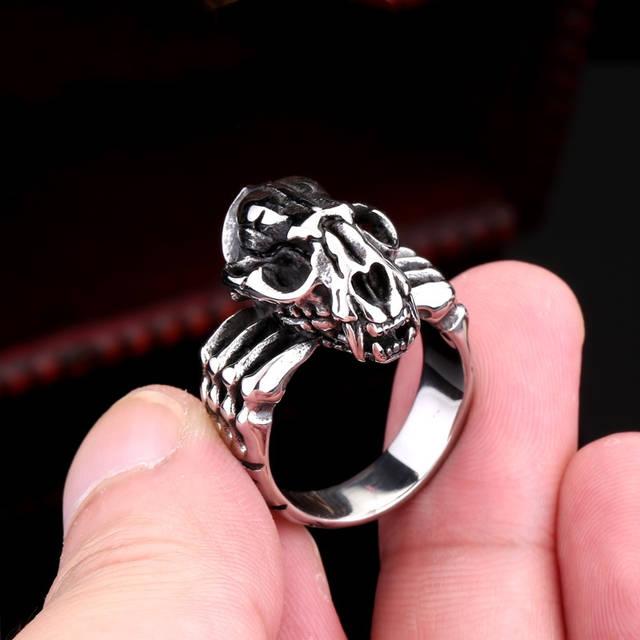 94b0005fc5c5f Top 10 Punto Medio Noticias | Tiger Skull Ring