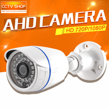 Outdoor 1MP 2MP AHD Camera 720P 1080P HD Analog Dome CCTV Camera Waterproof Night Vision Security Cam IR Cut Work For AHD DVR
