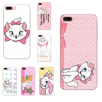 Marie Aristocats Print Mobile Phone Shell For Xiaomi Redmi Mi Note 7 8 9 SE Pro Lite Go Play image