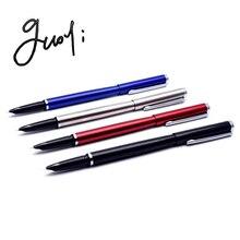 Guoyi D110 креативная разноцветная металлическая чернильная ручка 0,38 мм перо для обучения, офиса, школы, канцелярские принадлежности, Подарочная роскошная ручка для отеля, деловая ручка