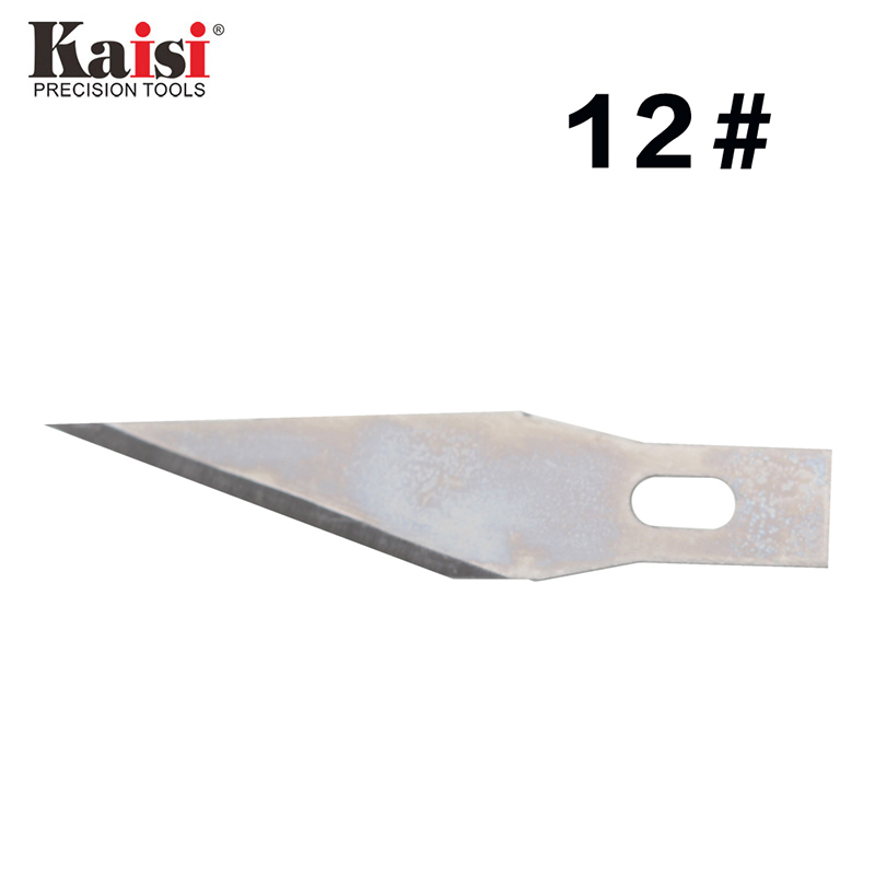 Kaisi 4 6 12 10PCS Set Precision Steel Blade Engraving Craft Sculpture Knife Scalpel Cutting Tool for PCB Repair in Knives from Tools