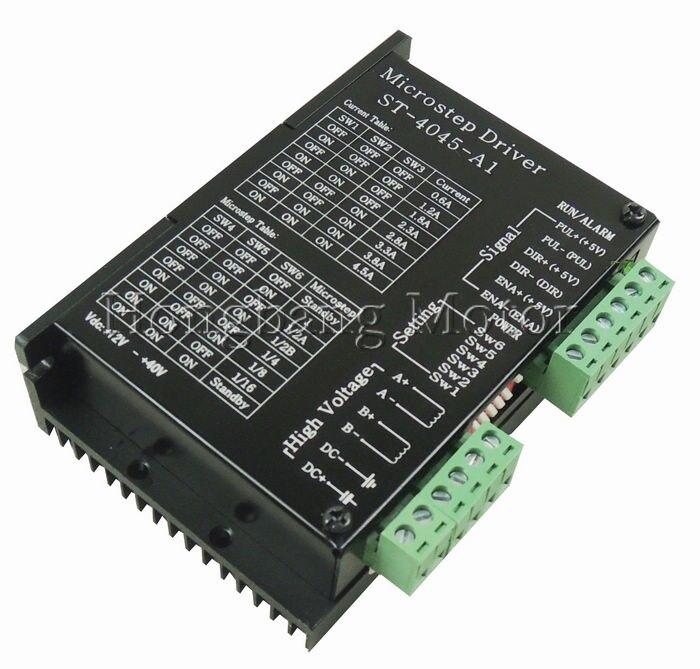 Image 4 - Ship from EU,CNC USB 4 Axis Kit, 4pcs TB6600 stepper motor driver+mach3 USB control card+4pcs nema23 270oz in motor+power supply-in Motor Driver from Home Improvement