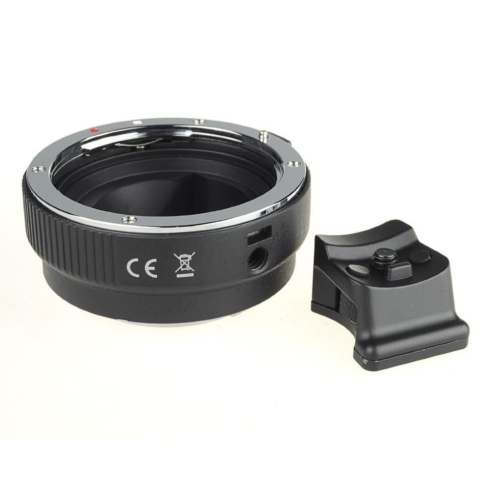 COMMLITE Auto-Focus Mount Adapter EF-NEX for Canon EF to Sony NEX Mount With Tripod Mount Stand mcolpus auto mount adapter ef nex for canon eos ef mount lens to sony nex series e mount camera with 1 4 tripod socket