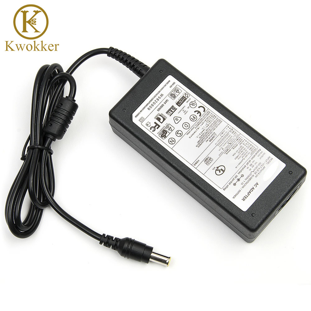 14V 4A LCD Monitor AC Adapter Laptop Charger For Samsung LCD SyncMaster 770TFT 17