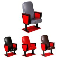 PU Leather Chair Cover Removable Chair Protector for Cinema Meeting Office Chair Cover