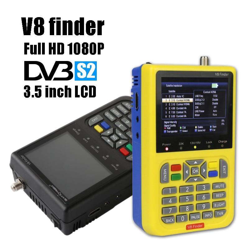 Satxtrem V8 Finder DVB S S2 Full HD 1080P Digital Satellite TV Receiver MPEG 4 3
