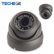 Techege 1080 P 48 В POE ip-камера ночного видения в/outoor металлический Водонепроницаемый Камера HD 2.0MP купольная камера P2P ONVIF обнаружения движения
