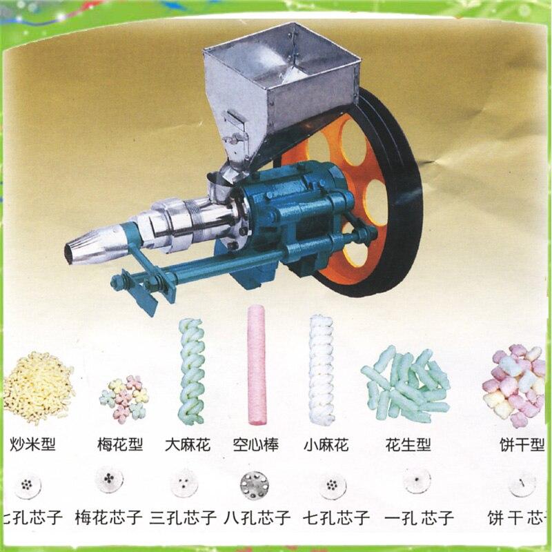 Авто кукурузы/риса пыхтя машина многофункциональным зерновые наполнители машина пыхтел закуски машина для литья под давлением