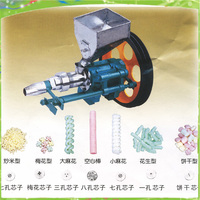 Auto corn/rice puffing machine multifuction cereal bulking machine puffed snack food extruder making machine