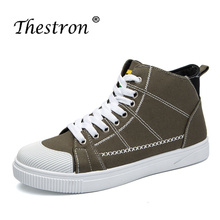 2018 Popular Men's Casual Shoes Spring Autumn Comfortable Mens Canvas Shoes Hot Sale Good Quality High Top Sneakers For Men