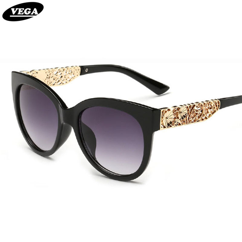 VEGA Senhoras Esculpir Flores Óculos De Sol Populares Mulheres Vidros Do  Vintage Óculos de Visão HD 3b07648699