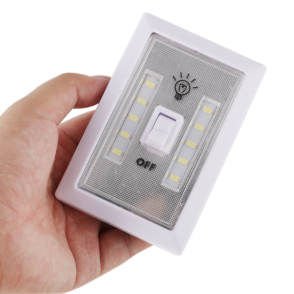 US $2 48 34% OFF|Super Bright 10*SMD LED Switch Closets Night Light with  Magnet On/Off Battery Operated Wardrobe Nightlight-in LED Night Lights from