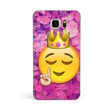 Funny Queen Emoji 2016!Fashion UV Black Bag Case For Samsung Note 5