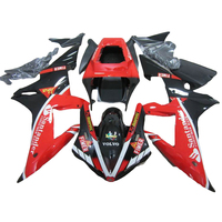 red custom fairing kit for YAMAHA YZFR1 2002 2003 R1 fairing kit 02 03 fairings xl85