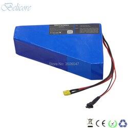 51.8v 500w 1000w 1500w gros pneu ebike batterie 52v 21ah triangle type batterie de VTT électrique 52v 20ah avec chargeur 3A