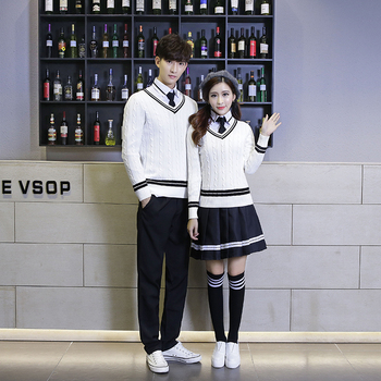 JK England uniforms high school junior high school students uniforms autumn college wind suits Korean campus clothing
