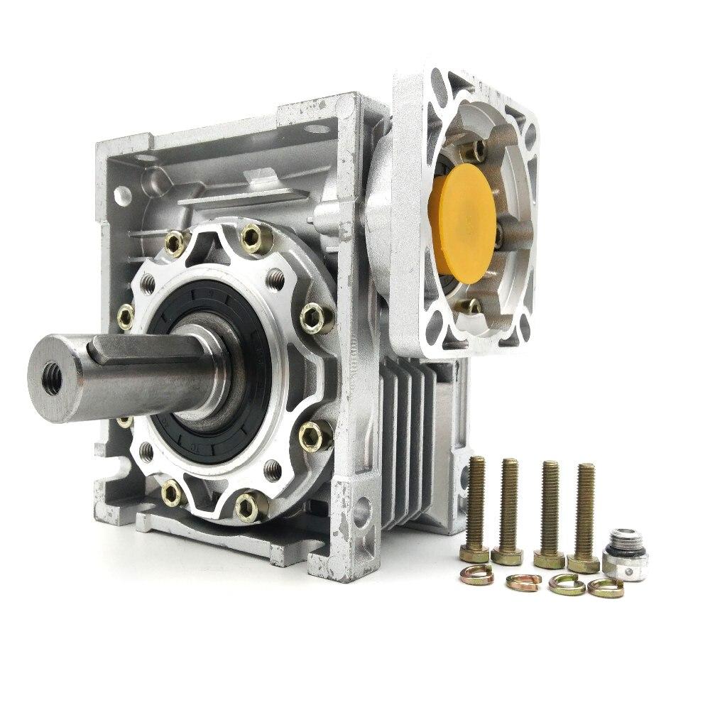 Nmrv050 30: 1 червь Шестерни коробка 14 мм 19 мм Вход вал 90 градусов червь Шестерни Скорость редуктор NEMA42 для Servo Двигатель шаговые двигатели