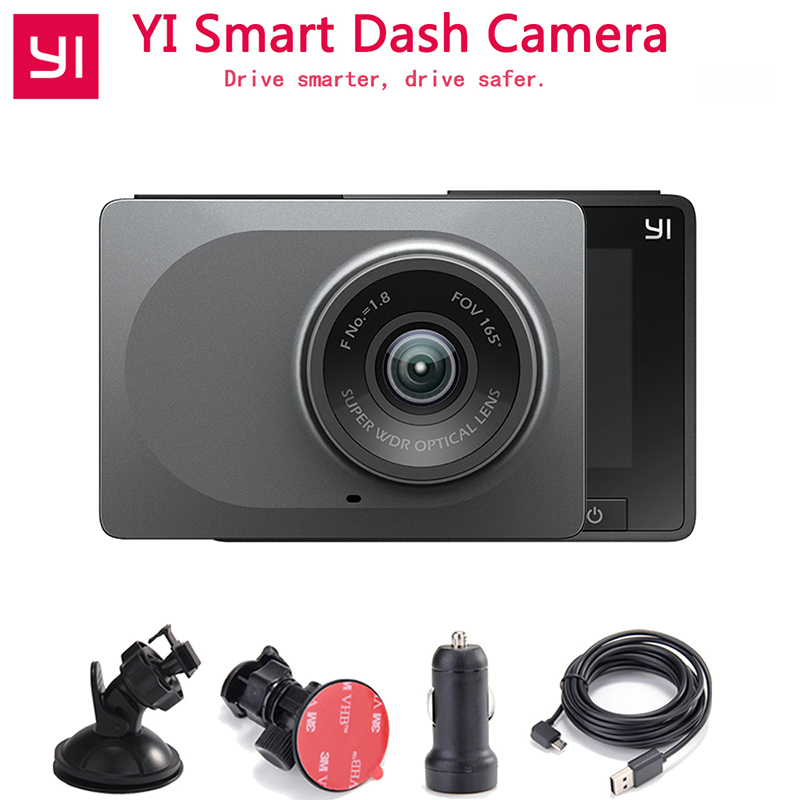 [Edição internacional] YI Smart Car DVR Night Vision 2.7