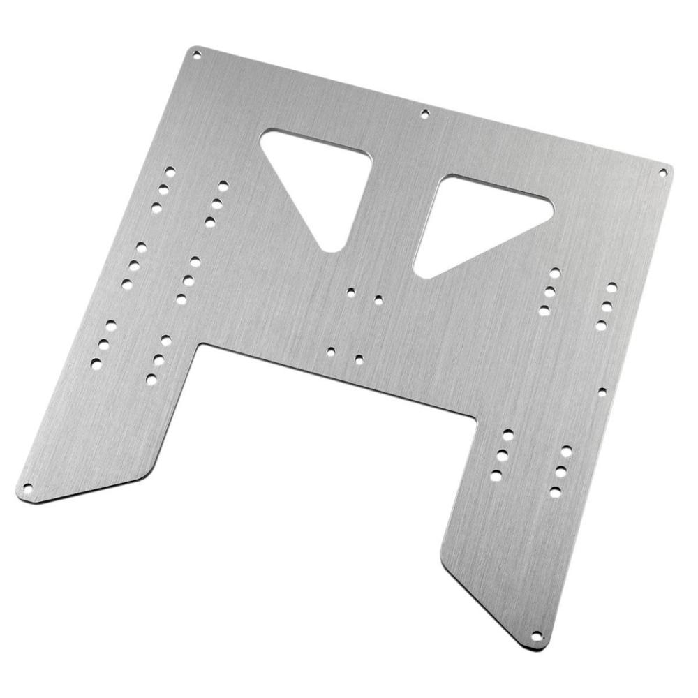 Blurolls Anet A8 A6 3D Printer Upgrade Y Carriage Anodized Aluminum Plate Anet A8 Y-Carriage upgrade plate original anet 3d printer a8 auto level