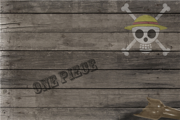 Custom Canvas Art One Piece Poster One Piece Anime Wall Stickers Skull Symbol Wallpaper  ...