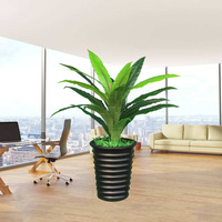 New 70cm single stem Brazil Nestle tree greenery plant fake plants artificial tree for home office decoration