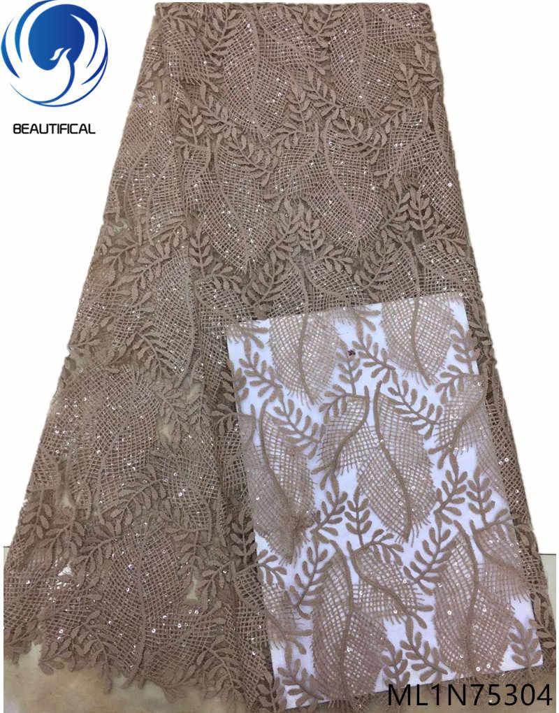 Фото Красивый французский тюль кружева ткань 2019 высокое качество платье нигерийские