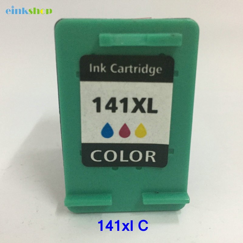 1pcs For HP141 Cartridge HP 141 xl Ink DeskJet D5360 D5363 D4260 D4263 D4363 J6413 J5783 C4275 C4283 C4343