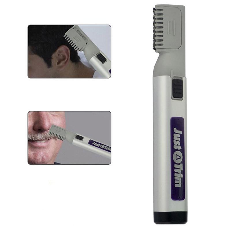 1pc man hair trimmer just a trim electric hair clipper cuts shaving beard tri. Black Bedroom Furniture Sets. Home Design Ideas
