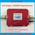 ЖК-Дисплей! мини W-CDMA UMTS 3 Г Ретранслятор, 3 Г сотовый усилитель сигнала, WCDMA 2100 мГц Мобильный Телефон Сигнал Повторителя усилитель