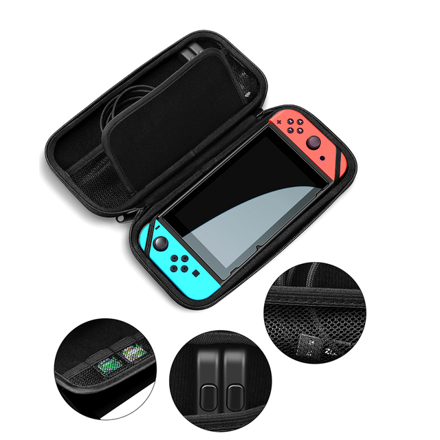 Nintend Switch Protection Carrying Hard Bag Nintendos Console Storage Travel Case NS Handbag for Nintendo Switch 4