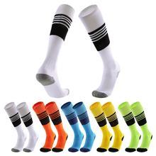 цены на Adult Men Male Cotton Breathable Football Socks Soccer Outdoor Running Basketball Socks Sport Compression Stockings в интернет-магазинах