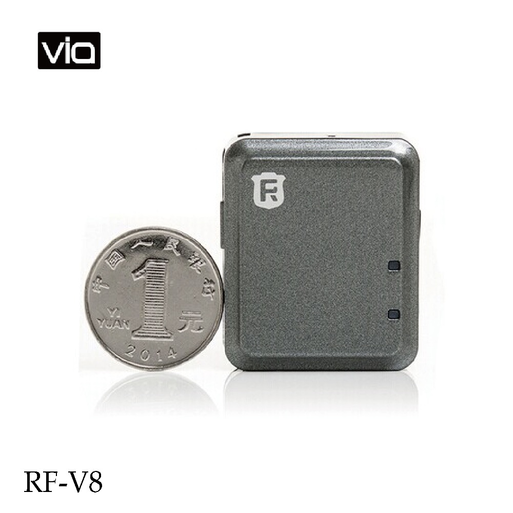 RF-V8 Free Shipping Mini High Efficiency Car GPS tracker & GSM / GPRS Anti-theft Alarm Auto Vehicle Security Positioning System a10 gps tracker locator for car vehicle google map 5000mah long battery life gsm gprs tracker