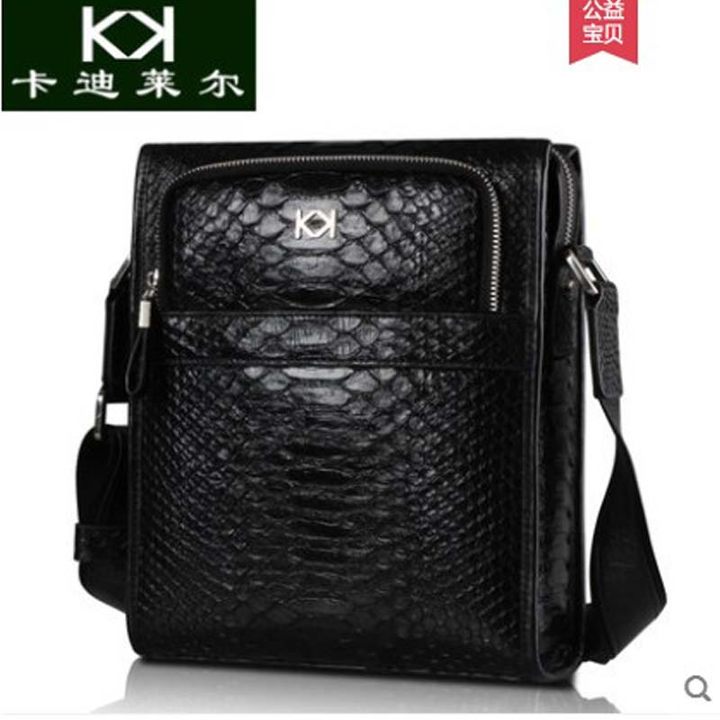 kadilaer Imported python skin mens bag crossbody bag high-grade leisure business bag genuine leather mens single should bagkadilaer Imported python skin mens bag crossbody bag high-grade leisure business bag genuine leather mens single should bag