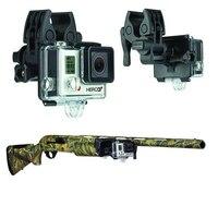 Для GoPro пистолет Рыбалка стержень лук крепления крепление спортсмен клип набор для GoPro Hero 4 3 + 3 2 камеры