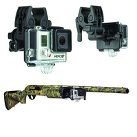 Voor Gopro Gun Hengel Boog Bevestigingsset Sportman Clip Set voor Gopro hero 4 3 + 3 2 Camera