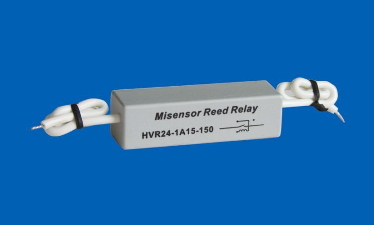 High Pressure Dry Reed Relay Contact 15KV Coil 24VDC HVR24-1A15-150