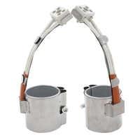 2 stücke 30x40mm 30x45mm 30x50mm Glimmer Band Heizung Edelstahl 220 V Elektrische Heizung Element