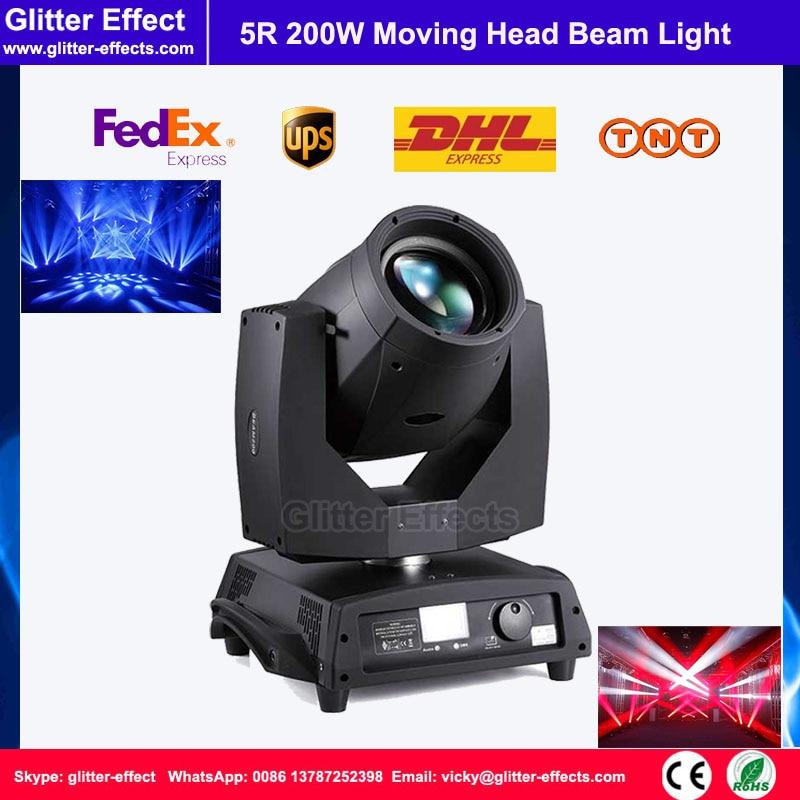 200W / 230W pohybující se světlomet 5R / 7R ostrý DMX512 Jevištní světlo pro noční diskotéku klubového klubu