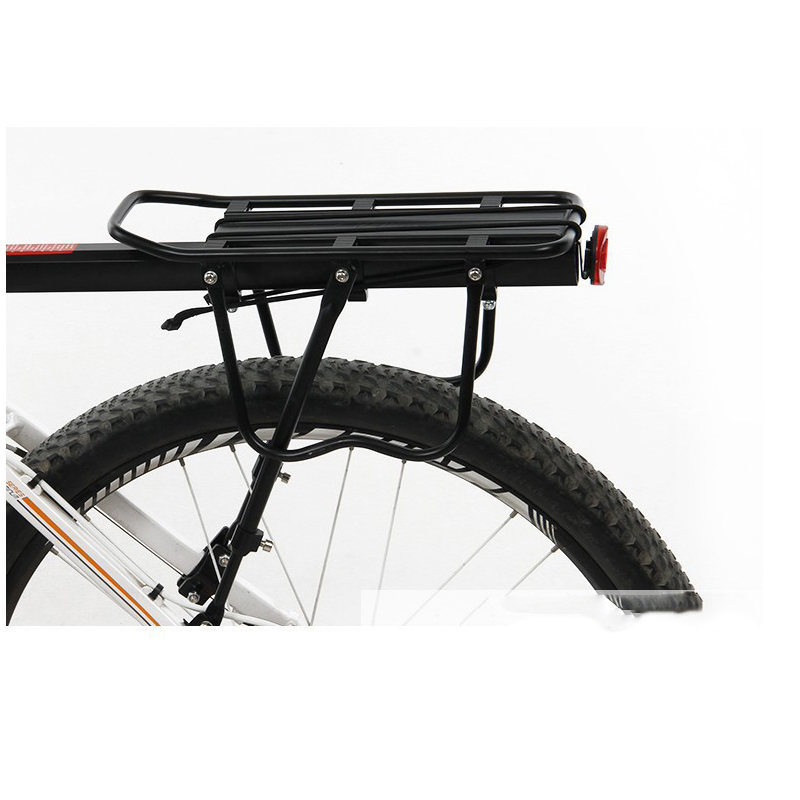 AOXIN Bicycle Luggage Carrier Cargo Rear Rack Shelf Cycling Seatpost Bag Holder Stand for 20-29 inch bikes with Install Tools