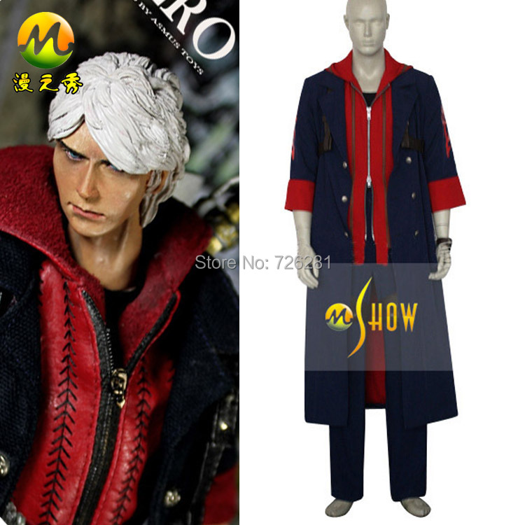 quality anime role playing game dress up clothing set devil may cry iv 4 nero - Free Halloween Dress Up Games